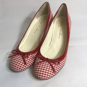 Bettye Muller Red And White Picnic Plaid 38 or 8